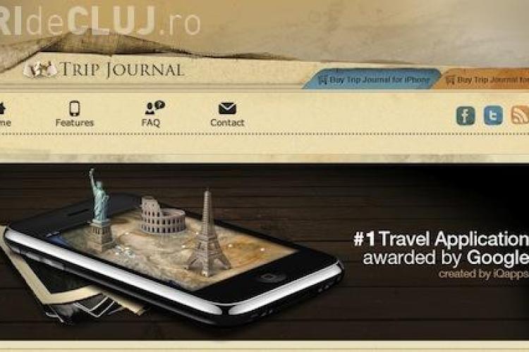 Clujenii de la iQuest, nominalizati la Webby Awards, cu aplicatia Trip Journal - VOTEAZA-I AICI