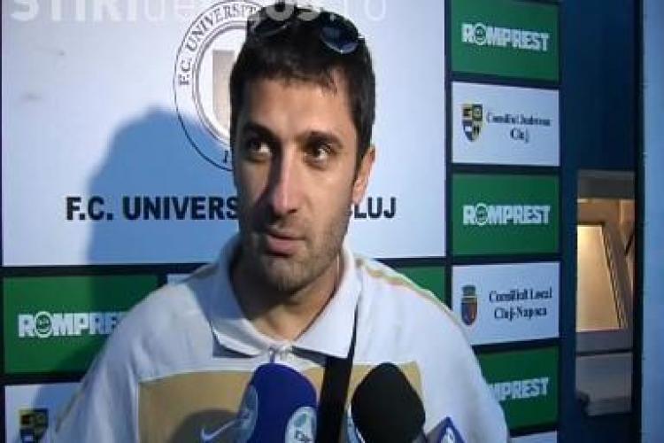 """Claudiu Niculescu, despre penalty -ul ratat cu Universitatea Craiova: """"Dau gol de la 25 de metri si ratez de la 11"""" - VIDEO"""