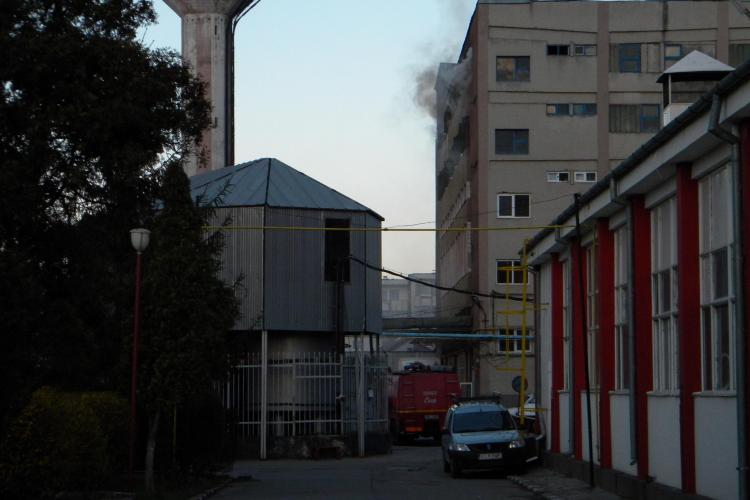 Incendiu la fabrica Farmec de pe strada Henri Barbusse!