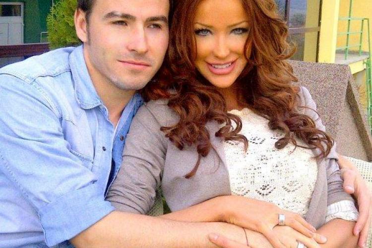 Bianca Dragusanu si jucatorul lui U Cluj, Adrian Cristea, si-au luat verighete GALERIE FOTO