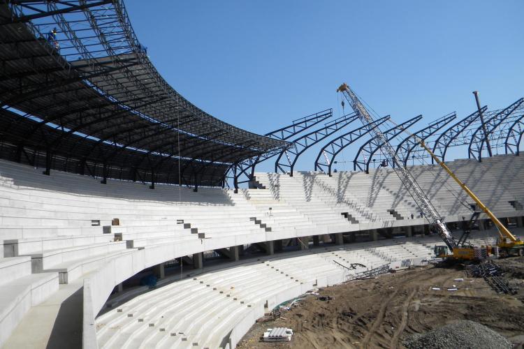 Porti deschise la Cluj Arena! VEZI cand poate fi vizitat stadionul