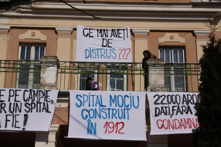 Consiliul Judetean Cluj, convocat in sedinta extraordinara pentru salvarea Spitalului din Mociu