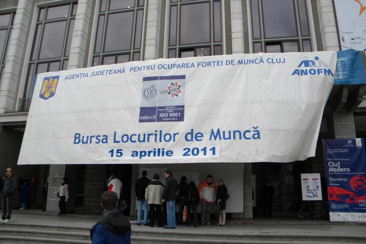 3.000 de clujeni au trecut pe la Bursa locurilor de munca - VEZI FOTO