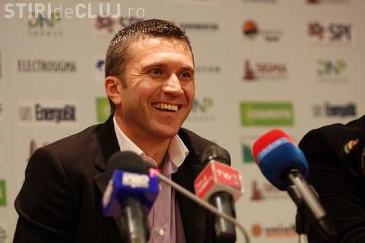 Antrenorul CFR Cluj, Alin Minteuan, se bazeaza pe fazele fixe ca sa castige meciul cu FC Brasov