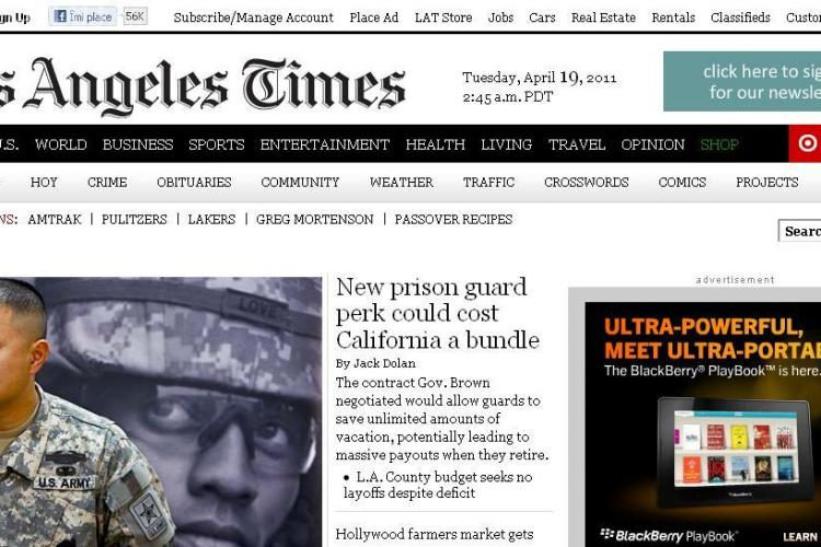 Premiile Pulitzer 2011: Los Angeles Times si The New York Times au castigat marile premii