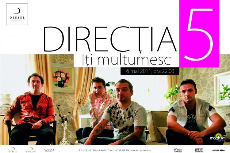 Concert Directia 5 in Diesel Club