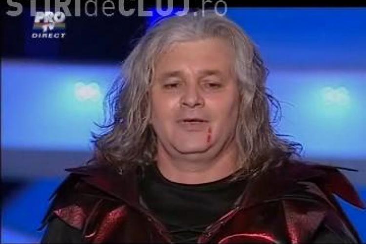 """Dracula din Turda, show penibil la """"Romanii au talent"""" - VIDEO"""