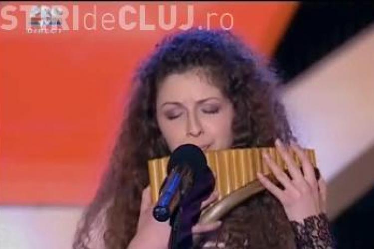 """Vezi cum a cantat Madalina Luca la nai in semifinala de """"Romanii au talent"""" - VIDEO"""