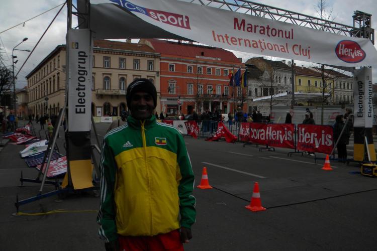 Un etiopian a castigat Maratonul Clujului. La femei s-a impus Georgiana Dragotoiu, din Romania - VIDEO si FOTO