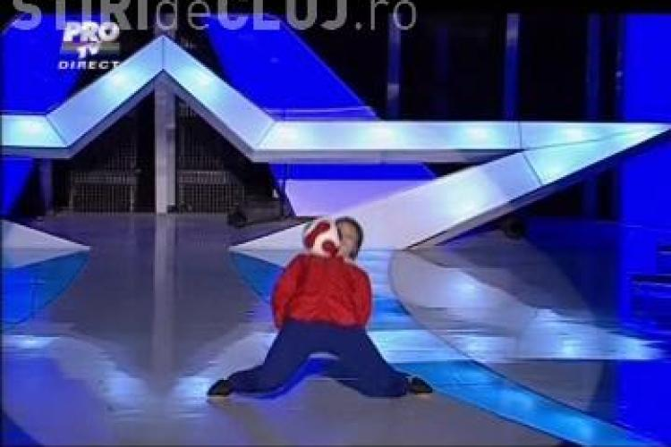 """Stefan Florescu, in finala """"Romanii au talent""""! - VIDEO"""