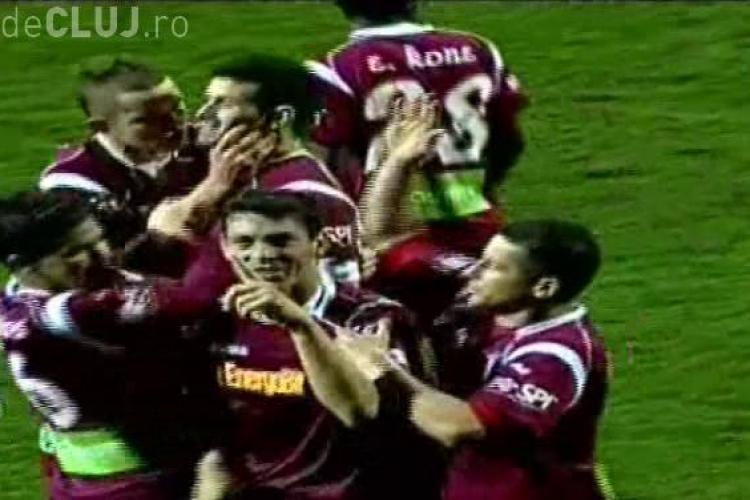Gol Ionut Rada! FC Brasov - CFR Cluj 1-2 - VIDEO