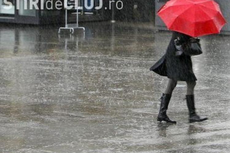 Meteorologiii anunta ploi si vant puternic in toata tara pana vineri