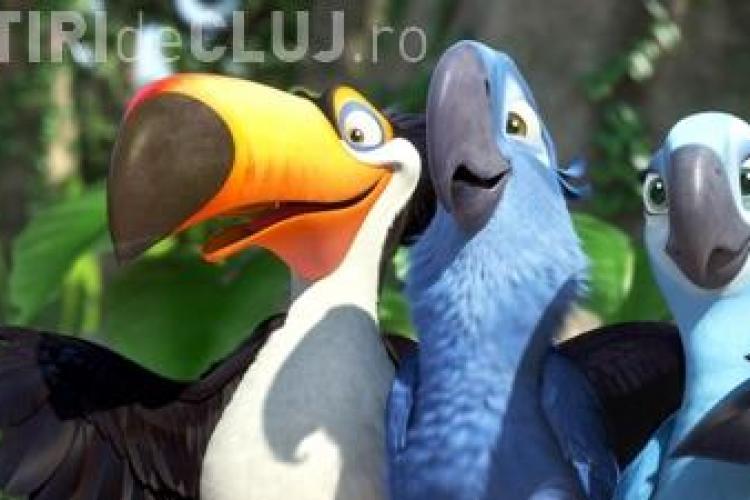 """Filmul de animatie """"Rio"""", noul lider al incasarilor din SUA! VEZI TRAILER SI PROGRAM CINEMA CLUJ"""