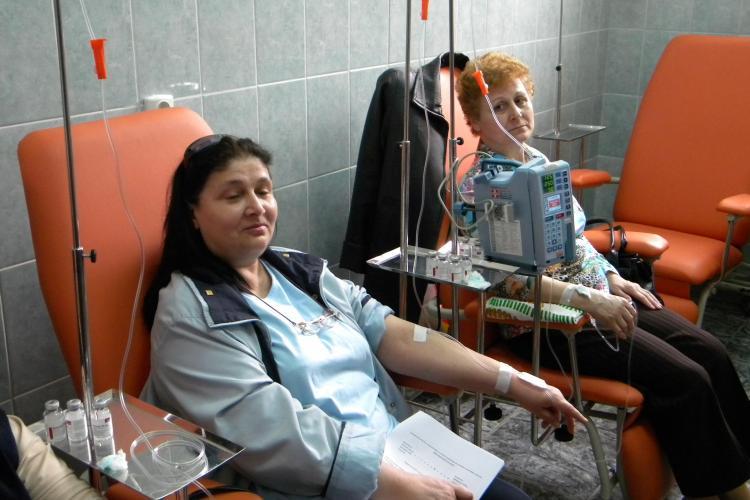 Donatie de 100.000 de lei pentru Clinica de Reumatologie din Cluj Napoca