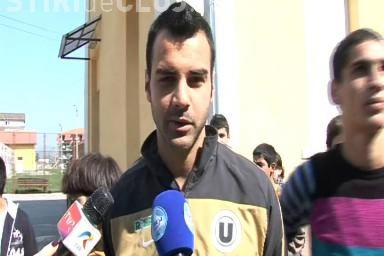 Vezi ce dorinta si-a pus Delgado de Paste pentru el si pentru U Cluj - VIDEO