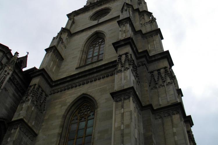 """Vezi cum arata Clujul de la inaltime, din turnul bisericii """"Sfantul Mihail"""" - VIDEO si FOTO"""