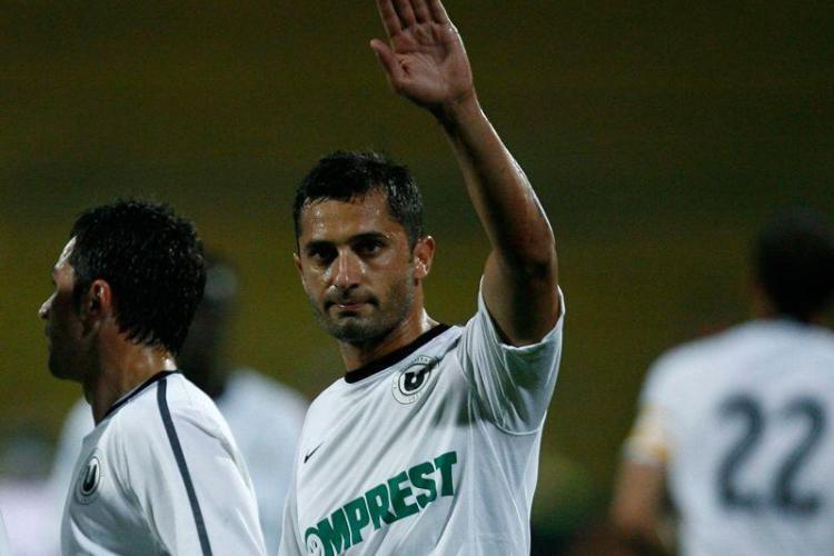 Kovacs Istvan arbitreaza sambata meciul Victoria Branesti-Universitatea Cluj