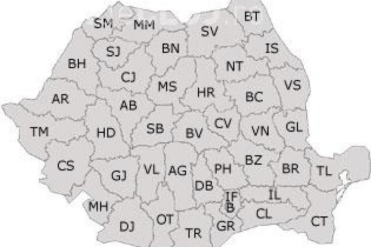 Avertizare meteo: Ploi in toate regiunile tarii in 1 si 2 mai