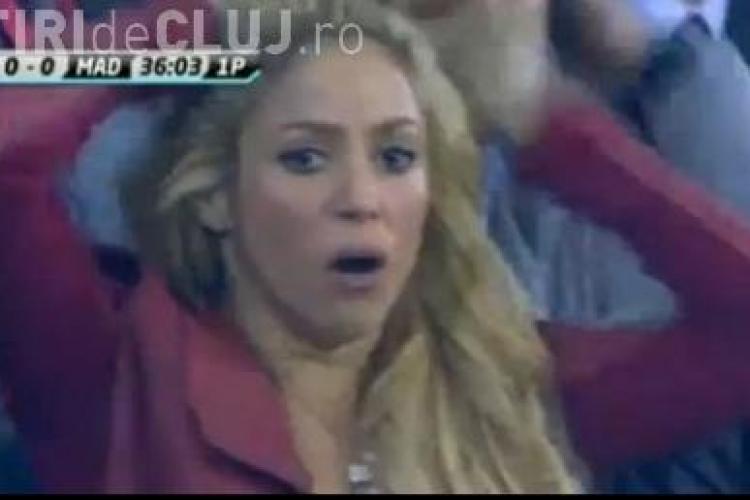 Shakira a suferit la meciul Barcelona - Real Madrid, din finala Cupei Regelui - VIDEO