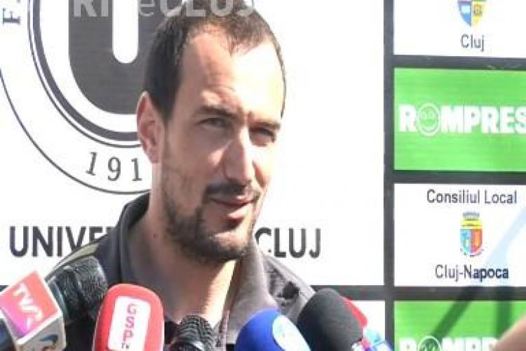 """Ionut Badea a analizat meciul U Cluj- Poli Timisoara: """"Suporterii ne duc la victorie!"""" VEZI VIDEO"""