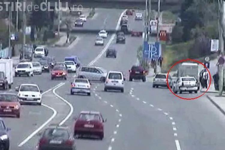 Politia ii cauta pe soferii vinovati moral pentru accidentul de pe Calea Floresti! VEZI VIDEO