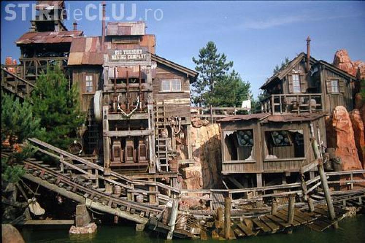 Cinci persoane au fost ranite la Disneyland Paris, in trenul de mina!