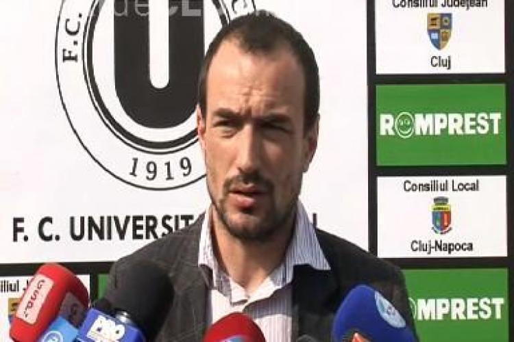 Jucatorii de la U Cluj au liber de Paste. Sambata Ionut Badea asteapta victoria la Branesti! VEZI ce a declarat antrenroul VIDEO