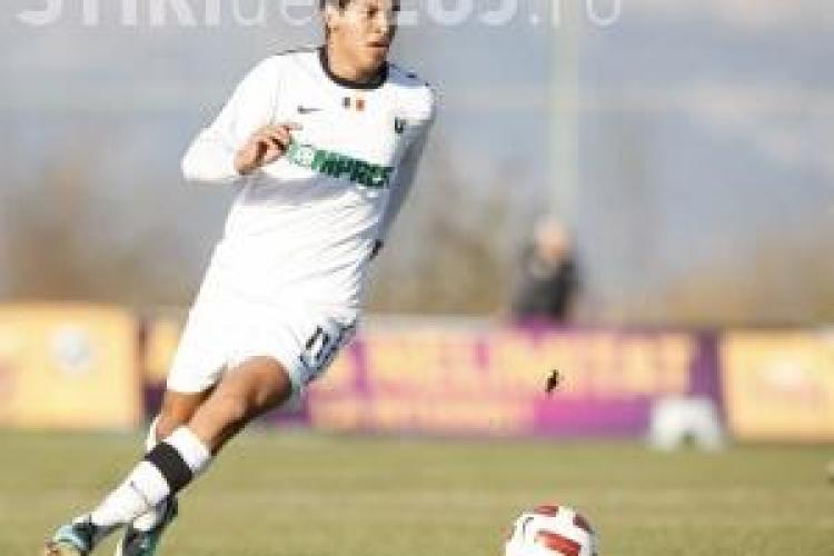 Gol Machado! Victoria Branesti - U Cluj 0-2  VIDEO