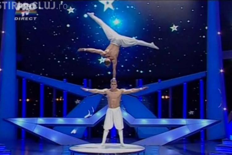 Trupa Balance, show total in finala Romanii au talent - VIDEO