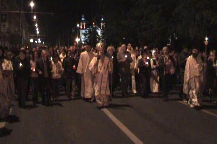 Mii de clujeni ortodocsi au asistat la slujba de Inviere de la Catedrala Mitropolitana - VEZI VIDEO si FOTO