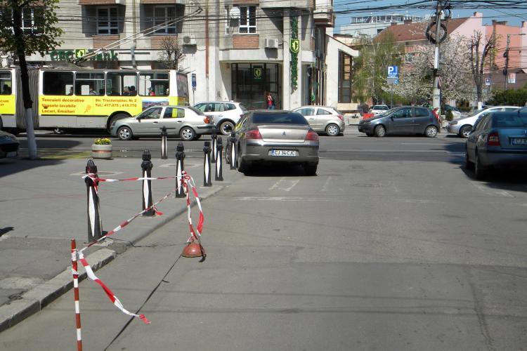Oficialii de la Consiliul Judetean Cluj parcheaza pe unde ii taie capul! STIREA CITITORULUI