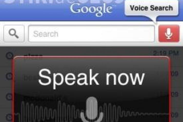 Cautari pe Google prin voce!