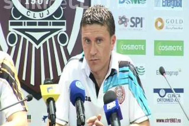 Jucatorul CFR Cluj, Gabi Muresan, rateaza meciul cu Vasluiul. Mijlocasul a suferit o leziune musculara - VIDEO