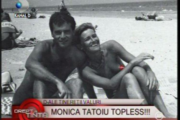 Vezi foto cu Monica Tatoiu in sanii goi: Am avut o tinerete zbuciumata