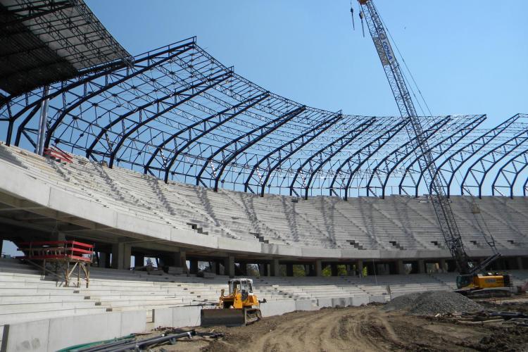 """Vezi ce probleme au gasit oficialii UEFA la stadionul """"Cluj Arena""""! VIDEO"""