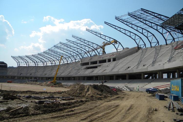 Pe Cluj Arena se vor juca in toamna meciurile din Champions League si Europa League! VEZI VIDEO
