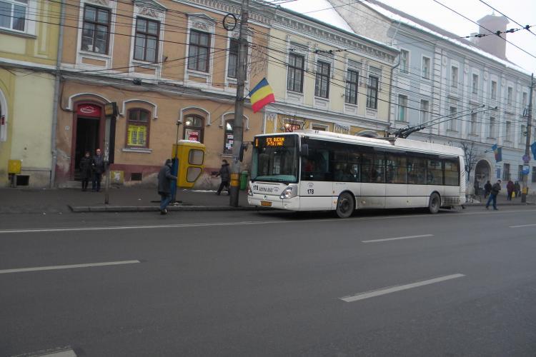 Bilete valabile pe ora pe autobuze si troleibuze in Cluj Napoca! VIDEO