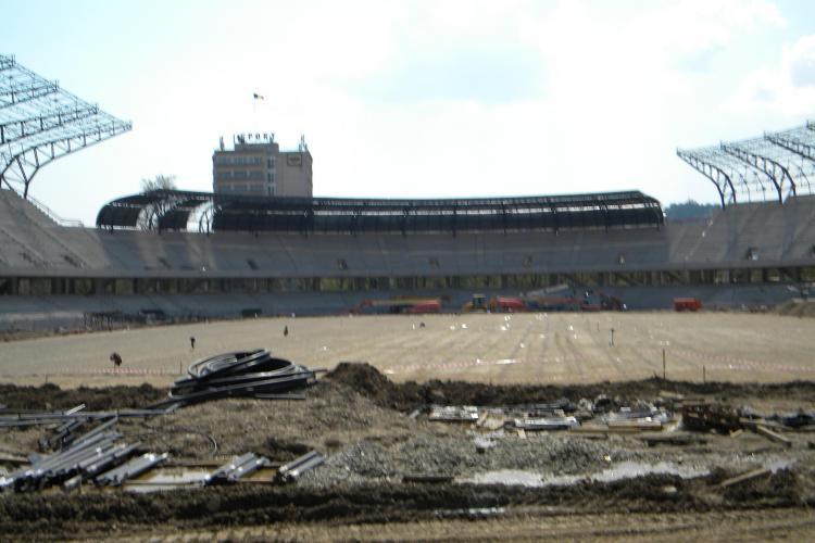 """Stadionul """"Cluj Arena"""", inspectat de oficialii UEFA si FRF!"""