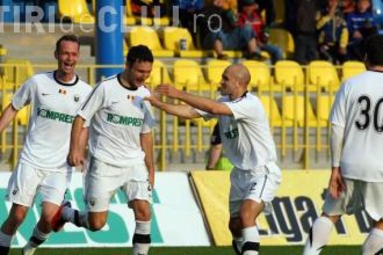 Gol Cojocnean! Victoria Branesti - U Cluj 0-1- VIDEO