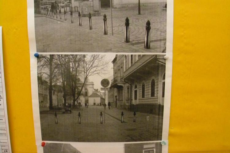 Terasele din Piata Muzeului, scoase azi la licitatie