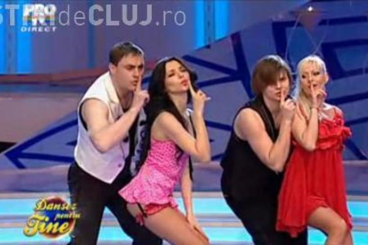 """Corina Caragea se misca senzual la """"Dansez pentru tine"""" - VIDEO"""