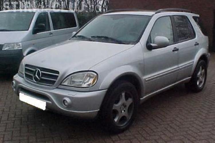 Primaria Cluj Napoca a primit un Mercedes ML270 din confiscari!
