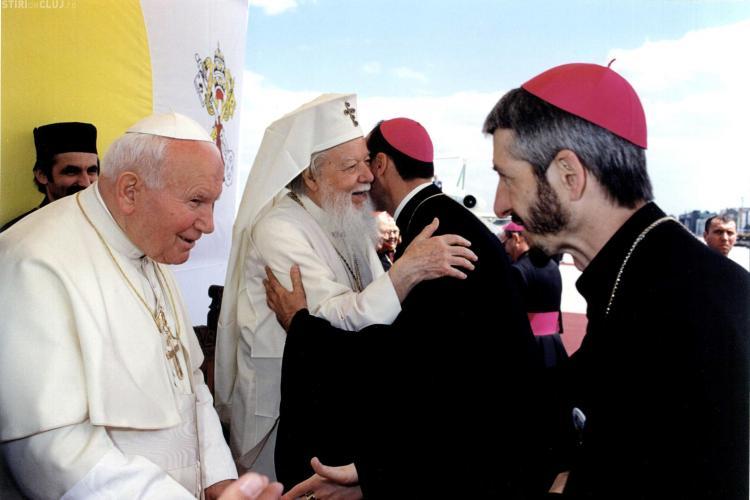 PS Florentin Crihalmeanu, in pelerinaj la Roma pentru a asista la beatificarea Papei Ioan-Paul al II-lea! FOTO