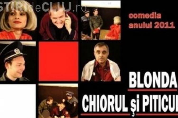 """""""Blonda, chiorul si piticul"""", piesa interzisa in Bucuresti pentru ca aminteste de Udrea, Basescu si Boc!"""