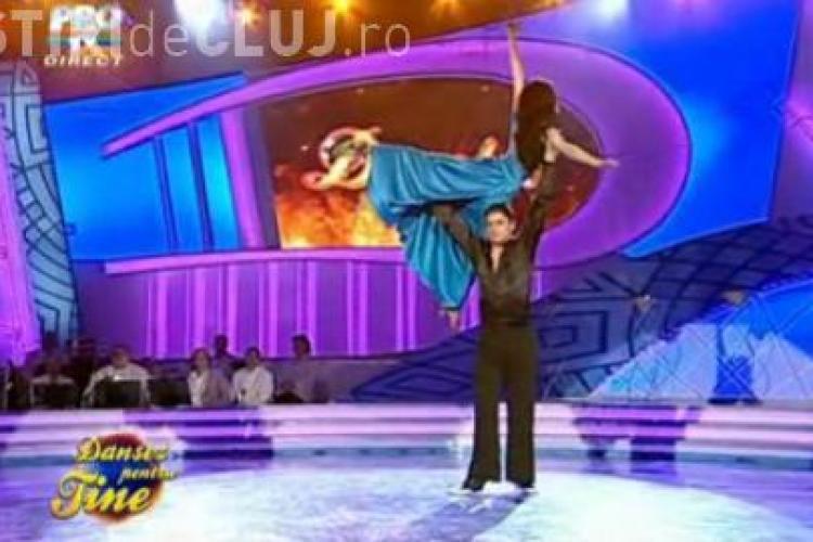 Corina Caragea si Serban Gheorghiu, eliminati de la Dansez pentru tine - VIDEO
