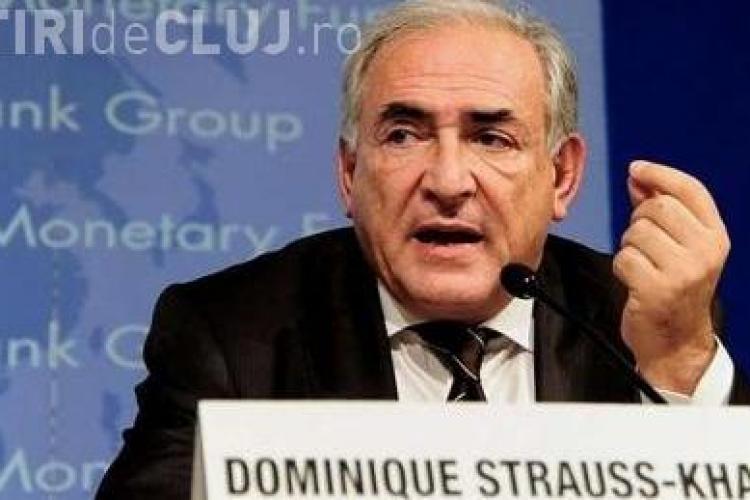 Dominique Strauss-Kahn pleaca cu demisie de la FMI, dupa scandalul sexual in care e implicat!