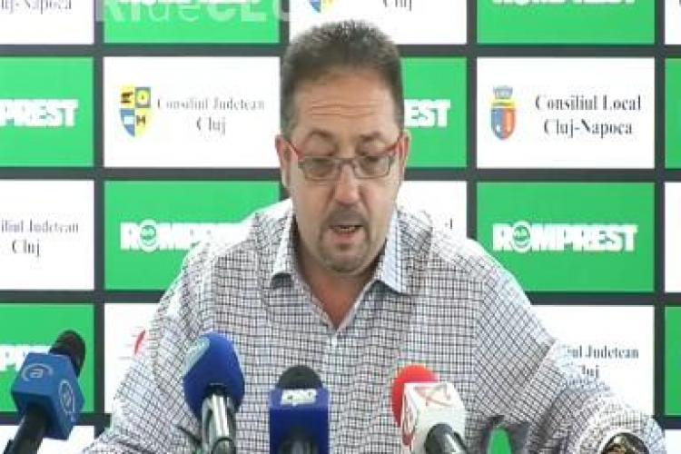 Florian Walter listeaza U Cluj la bursa! VIDEO