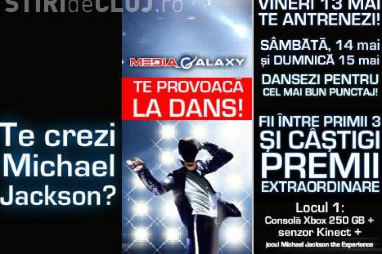 Concurs de dans virtual pe muzica lui Michael Jackson la Polus Center! Puteti castiga o consola Xbox! (P)