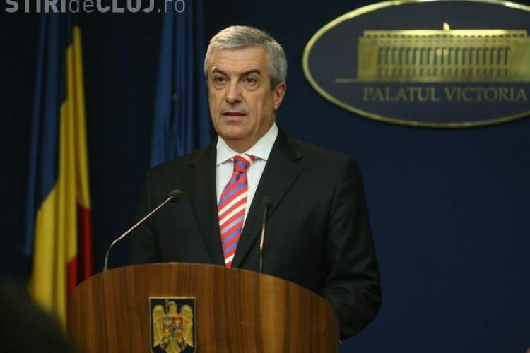 Calin Popescu Tariceanu, implicat intr-un accident. Masina fostului premier a fost ridicata cu platforma