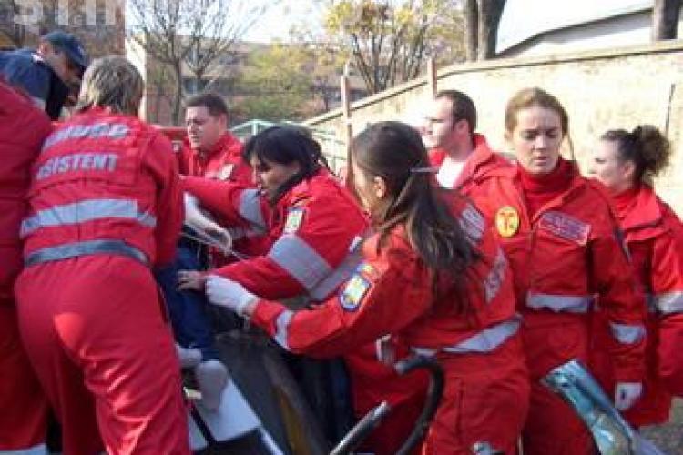 Pompierii clujeni intervin la un caz in 9.40 minute! Timpul ar putea fi redus prin deschiderea unei noi subunitati  la Dej